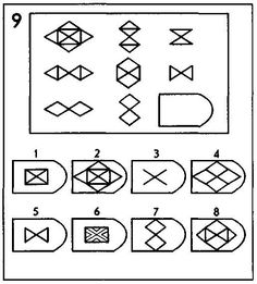 Non Verbal Reasoning Puzzles for Kids and Teens with