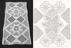mãoboa: desenho de crochê