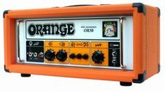 Orange 40th Anniversary Head