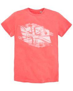 Pepe Jeans T-Shirt i fargene Korallrød, Hvit innen $GenderDepartment - T-shirts & piké - La Redoute
