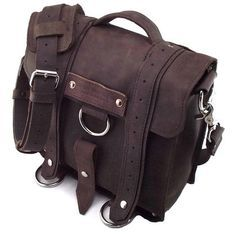 """This """"iPad Safari Messenger Bag"""" is just too awesome for words. Handmade in the USA and worth every penny."""