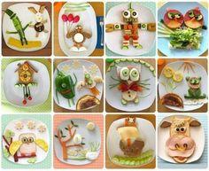 Ideas y cosas para tus fiestas infantiles: Platos originales