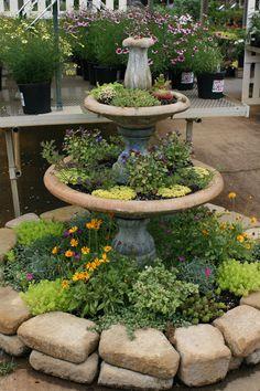 Easy DIY Flower Beds Ideas for Your Garden - Alles über den Garten Design Jardin, Garden Design, Landscaping With Rocks, Backyard Landscaping, Garden Center Displays, Garden Nursery, Outdoor Garden Furniture, Outdoor Rooms, Outdoor Living