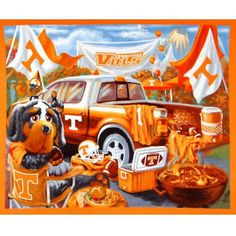 of course Knoxville and the University of Tennessee is just a hop, skip, and a jump from the mountains Tn Vols Football, Tennessee Volunteers Football, Tennessee Football, Football Season, College Football, Tennesse Volunteers, Football Decor, Tennessee Girls, East Tennessee