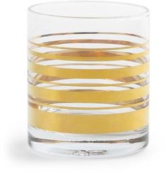 80c886462987 C. Wonder Golden Stripe DOF Glasses (Set of 4) - ShopStyle Decor