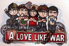All time low ft Vic Fuentes - a love like war