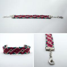 $12.00 Sensitivity Macramé Bracelet by KnotJustLove on Etsy