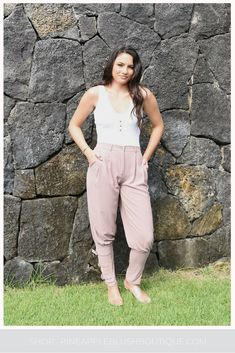 bfceaaf2196 Dressy Jogger Pant - Pineapple Blush Boutique