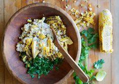 Mexican Corn Salad by bonappetit #Salad #Corn #Mexican