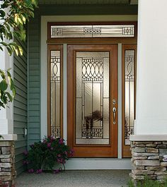 ODL Paris Is A Beautiful Addition To Your Home. Door Glass InsertsEntry  Doors ...
