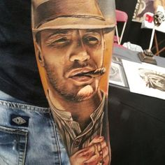 http://tattooideas247.com/lawless-tattoo/ Forrest Bondurant #Actor, #Film, #ForrestBondurant, #Lawless, #LukaLajoie, #Movie, #Prohibition, #TomHardy