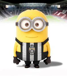 Minion Juventus, how cute. Minion 2015, Minions Love, Minions Despicable Me, My Minion, Minion Rush, Minion Stuff, Minions Minions, Minion Humor, Evil Minions