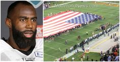 Lately, NFL teams and players have been infuriating Americans by refusing to stand for our National Anthem, but yesterday, Eagles players quickly pissed people off when they noticed what they were doing while standing as the Star-Spangled Banner played.