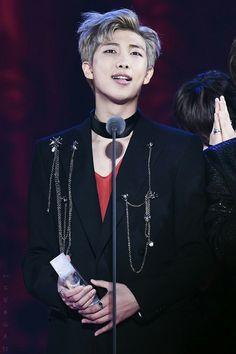 Rap Monster ❤ BTS at the Melon Music Awards (191116) #BTS #방탄소년단