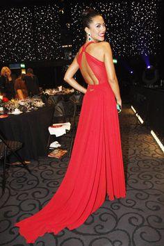   Gala da TVI: Inspire-se para o reveillon. Sofia Ribeiro. Red Dress.