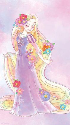 Disney Princess mobile wallpaper collection