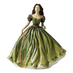 Amazon.com: Royal Doulton Irish Charm Pretty Ladies Figurine: Home & Kitchen