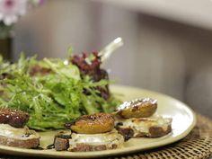 Salada quente de folhas   Saladas   Receitas Gshow   Receitas.com
