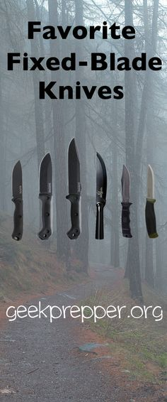 """I get asked quite often """"What are your favorite fixed blade knives?"""". Here is my list of current favorites and go-to blades."""
