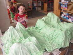 Begeleide of zelfstandige activiteit - Dinolandschap Art Therapy, Art For Kids, Children, Meet, Blogging, Art For Toddlers, Young Children, Art Kids, Boys