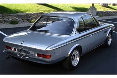 """#16. Introduced as a homologation special variation on the BMW E9 3.0 CS, the 3.0 CSL (L for """"leight"""", German for 'light') was introduced in 1972. Reaching build-out the following year @ 1265 total models completed, it and the later '73 model (larger engine, front air dam & rear deck wing) went on to compete successfully in European Touring Car, IMSA GT, and international endurance racing until 1979."""
