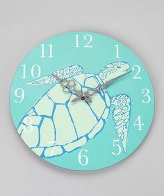Turtle Wall Clock...I want