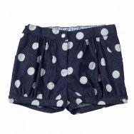 spotty shorts so cute!