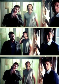 [GIFSET] Jared cannot hold it together in the third frame! #Season9Promos