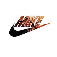 Mike swoosh basketball bar mitzvah logo