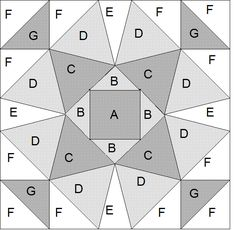 free quilt block patterns to print | Quilt Blocks of the States - Wisconsin