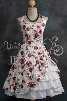 Found these OMG GORGEOUS dresses on Etsy the other day.  I'm on a super strict budget right now (meaning sales fabric and coupons only, if I can help it!), but I definitely want one of these someday! | Gothic Victorian Inspired. Asymmetric Designed by JJofSweden, $69.00