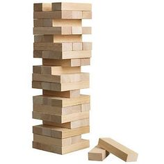 470bb9ad4b7 Buy John Lewis Topple Blocks from our View All Games   Puzzles range at  John Lewis   Partners.