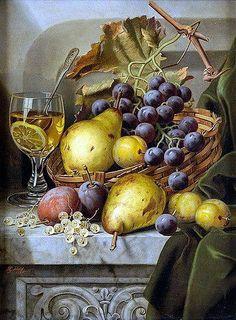 uvas con peras