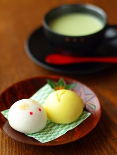 japanese sweets/お月さまとうさぎ