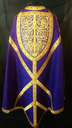 St. Thomas à Becket Conical Chasuble (Altarworthy.com.)