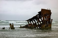 Shipwreck: The Peter Iredale | Flickr - Photo Sharing!