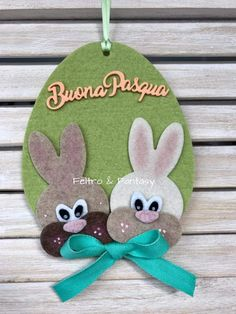 Easter Art, Easter Crafts, Hand Sewing Projects, Craft Projects, Birthday Gifts For Husband, Diy Easter Decorations, Easter Holidays, Friendship Gifts, Easter Wreaths