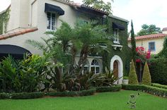 Spanish style house in Coral Gables