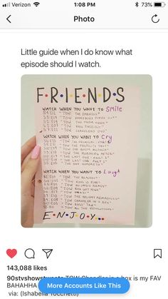movie and tv shows Trendy Funny Friends Tv Show Memes Friends Episodes, Friends Moments, Friends List, Funny Friends, Friends Tv Show Gifts, Friends Scenes, Friends Cake, Chandler Bing, Movies And Series
