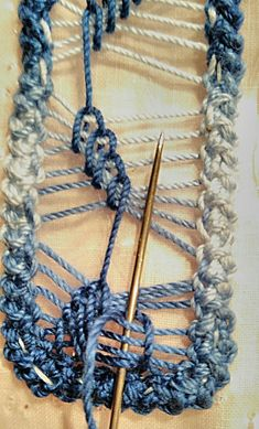 We prepared you legendary visuals with the Macrame gallery and collages. Crochet Vest Pattern, Form Crochet, Diy Crochet, Crochet Patterns, Embroidery Stitches Tutorial, Ribbon Embroidery, Bruges Lace, Romanian Lace, Knit Baby Booties