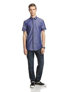 71% OFF GF Ferre Men's Chambray Shirt