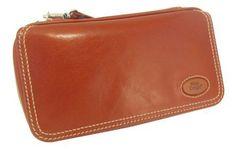 Pfeifentaschen schwarz, braun, cognacfarben aus Leder für 1,2,3,4 oder 6 Pfeifen