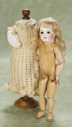 Other People's Lives: 258 The Rare and Beautiful French Bisque Bebe Modele by Leon Casimir Bru in Rare Petite Size