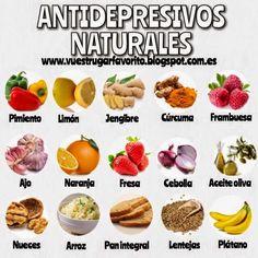 TU SALUD: ANTIDEPRESIVOS NATURALES