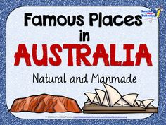 These Famous places in Australia Posters (21 included) feature beautiful photographs of famous landmarks in Australia both natural and manmade. 24 pages for $2!
