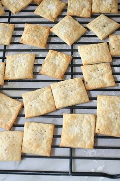 // goat cheese and rosemary crackers