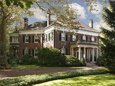 Elegant Colonial Revival, circa 1900.  Princeton, NJ