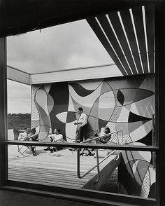 mid century modern retro mod australian homes - harry seidler - Rose House Home Design, Modern House Design, Architecture Bauhaus, Modern Architecture, Historical Architecture, Australian Architecture, Australian Homes, Mid Century House, Mid Century Style