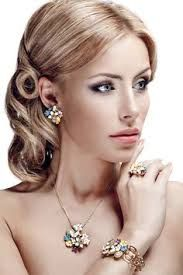 Image result for jewelry on model
