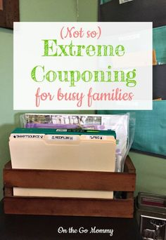 Couponing for busy families can be very difficult! Its hard to find the time to sit down and clip coupons. Check out these 6 steps for couponing and start saving money right away the easy way! Save Money On Groceries, Ways To Save Money, Money Tips, Money Saving Tips, Couponing For Beginners, Couponing 101, Extreme Couponing, Coupon Organization, Organizing